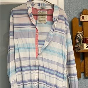Men's Dress Shirt XL Guess